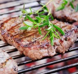Bœuf grillé et sa marinade