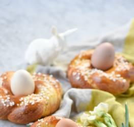 Petites brioches de Pâques recette
