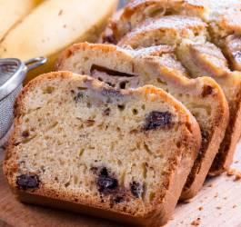 Cake végétarien chocolat banane