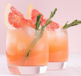 Cocktail marquisette rosé