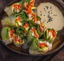 Recette croquants veggies de crudités au concombre