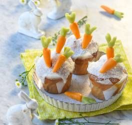 Cupcakes coco carotte