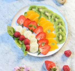 recette, fruits,