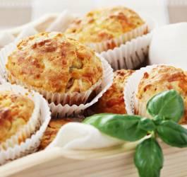 recette muffins salé jambon fromage parmesan