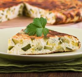 Recette d'omelette orientale