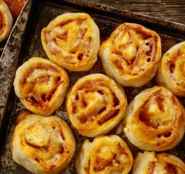 Recette pizza roll up