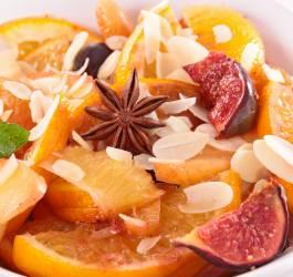 Salade d'oranges à la marocaine