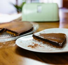 Recette de tarte chocolat sans cuisson