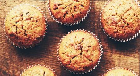 Cupcakes aux noisettes et coeur fondant