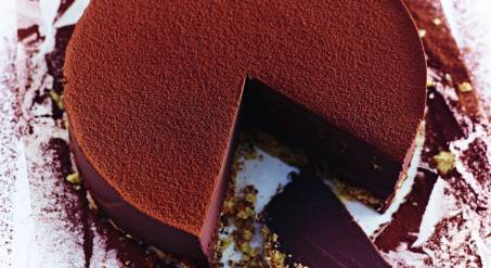 Fondant façon cheesecake